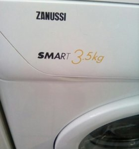Zanussi smart 3,5 kg