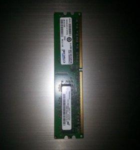 Оперативная память Crucial [CT25664AA800] 2Gb