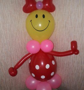 Кукла из шаров