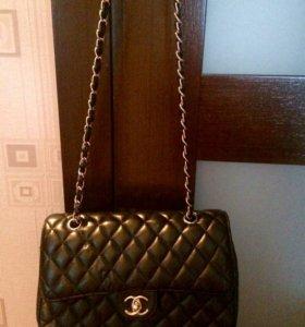Женская сумка Chanel натуральная кожа