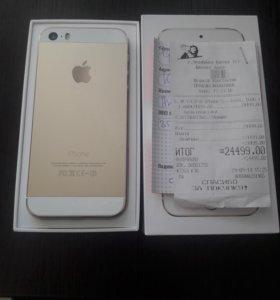 iPhone 5s 16GB gold золотой в идеале