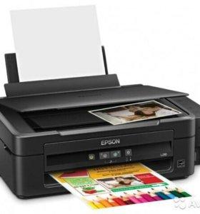 Принтер сканер копир L210. Фотопринтер