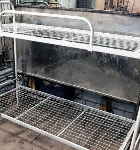 Кровать металлическая 2С4