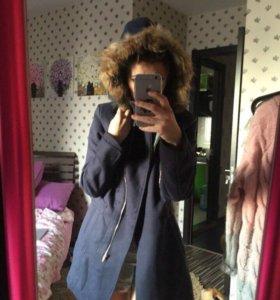 Теплое пальто и дубленка по 2200р