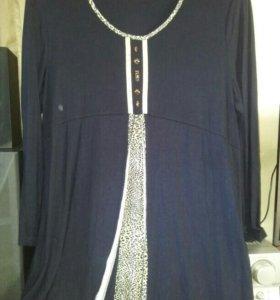 Блуза туника новая (турция)
