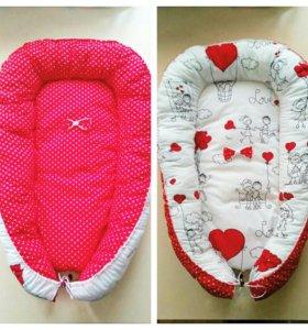 Гнездышко кокон для новорожденных Mom's Care