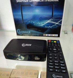 Цифровой эфирный приемник Lumax 555 HD