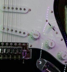Электроинструмент гитара