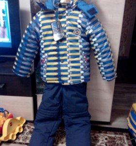 Детский зимний костюм,рост 104