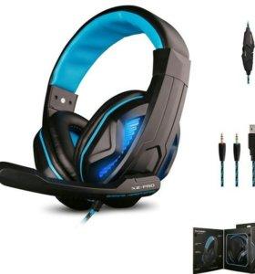 Игровые наушники с микрофоном Ovann X2-PRO!