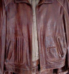 Куртка натурал кожа