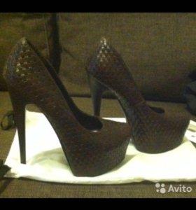 Туфли плетёные Centro