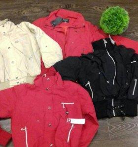 Куртки весна новые