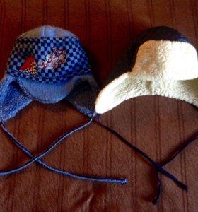 Зимние шапки 3-6 лет