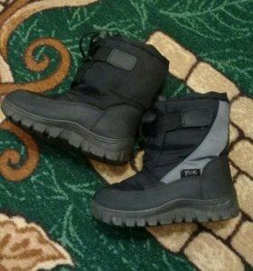 Обувь на мальчика весна-осень