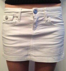 Белая джинсовая юбка Sepala новая!