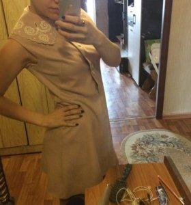 Продам платье, ткань лен