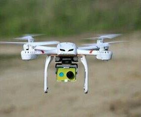 Квадрокоптер MJX X101 с экшн камерой Хиоми
