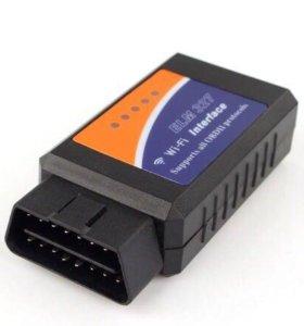 Автосканер elm 327 wi-Fi новый