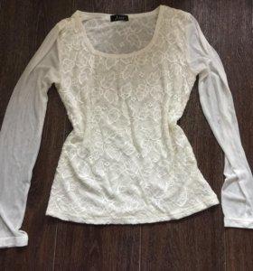 Блуза белая
