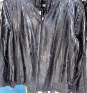 Куртка нат, кожа