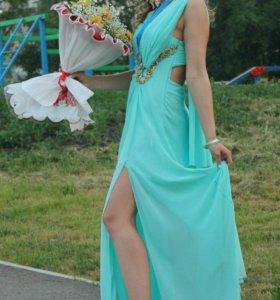 Платье выпускное(46-48) и туфли размер 40,5