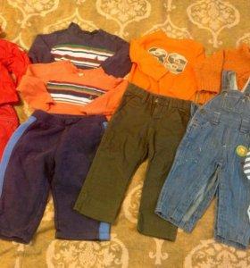 Пакет вещей на мальчика 74-80