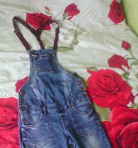 Комбенизон джинсовый для беременных