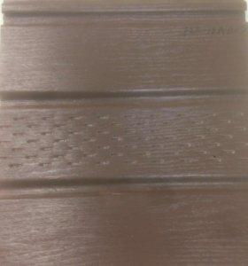Софит коричневый для сайдинга