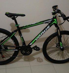Новый велосипед Venus! 21скорость!Дисковые тормоза