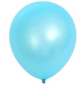 Шары голубые 15шт в упаковке