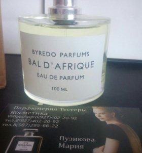 Духи тестер Byredo - bal d'africue