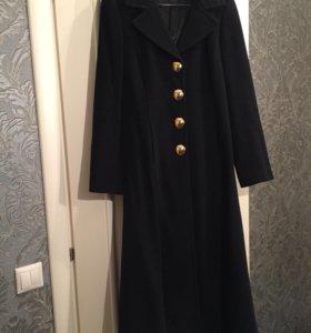 Пальто Alba Moda шерсть с ангорой