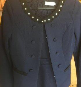 Новый Костюм платье пиджак
