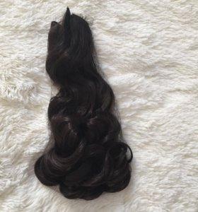 Искусственные волосы на заколках (новые)