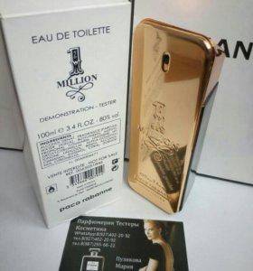 Духи тестер Paco Rabanne - 1 million