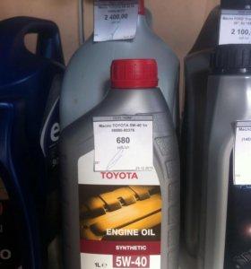 Масло Toyota 5w40 5л