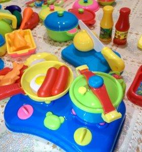 Детский кухонный набор