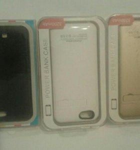 Чехлы аккумуляторы на Iphone  6,6s