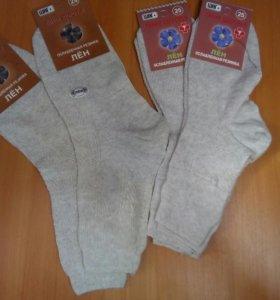 Новые носки из льна