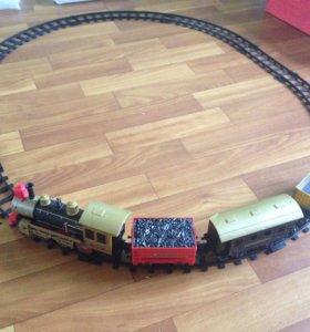 Ж/д дорога(поезд)