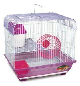 Б.у клетки для птиц и хомяков,крыс!