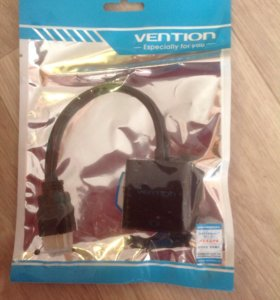 Мультимедиа конвертер HDMI-VGA+аудио