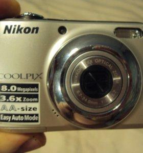 Цифровой фотоаппарат Nikon L21 полностью в рабочий