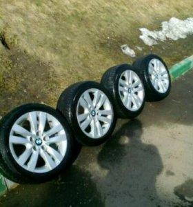 Комплект колес на летней резине от БМВ е90