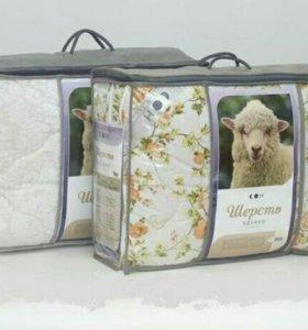 Одеяло/подушки овечья шерсть