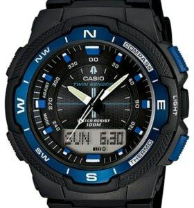 Новые часы Casio SGW-500H-2B
