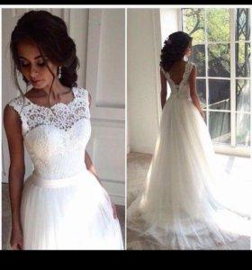 Новые дизайнерские свадебные платья