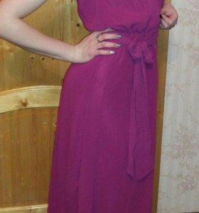 Платье вечернее в пол новое