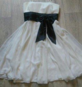 Платье шифоновое р-р 42